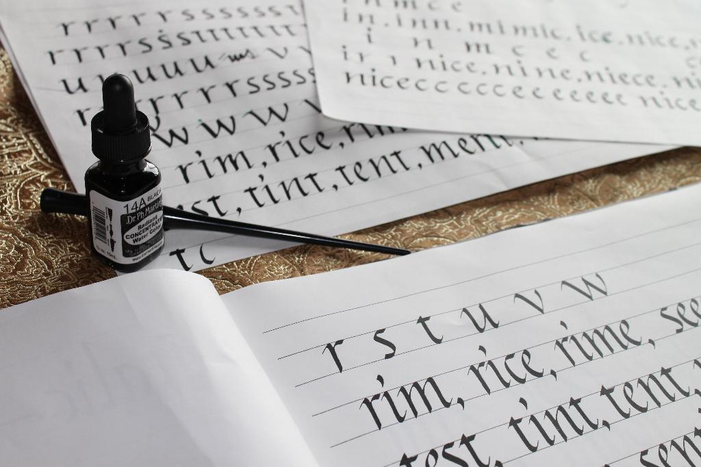 calligraphy-practice