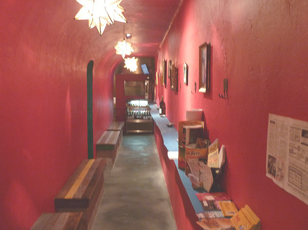 メキシコ料理レストランの風景