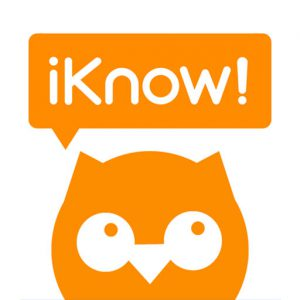 iKnow!のiOSアプリのアイコン画像