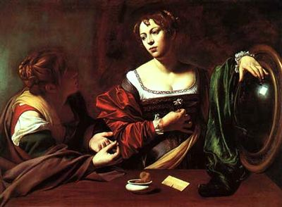 マグダラのマリアの西洋画の画像