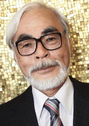 宮崎駿さんの写真