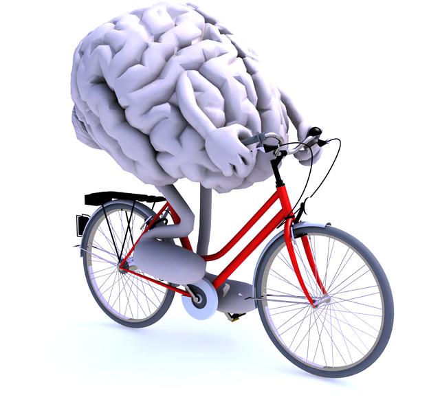 筋トレする脳の画像