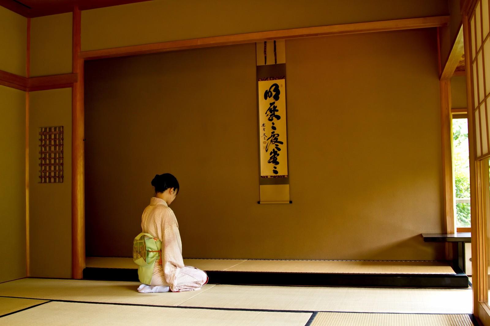 京都の和室の画像