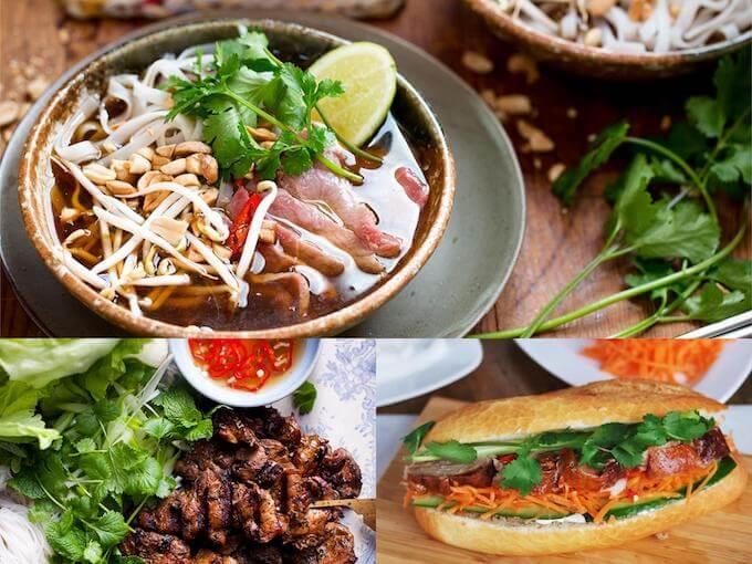 ベトナム料理、フォー、ブンチャ、バインミー